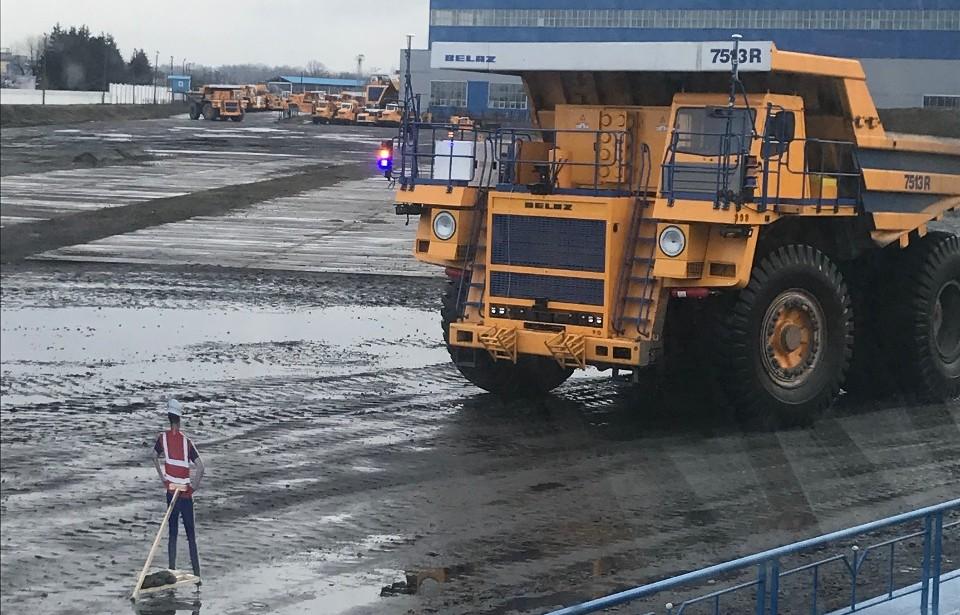 Обновленный роботизированный БЕЛАЗ-7513R: испытания прошли успешно