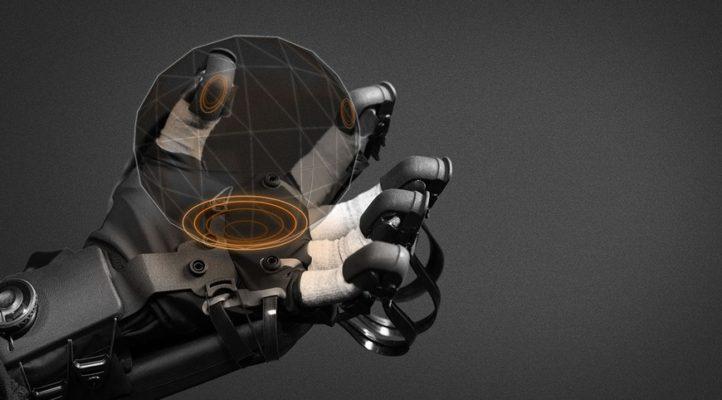 Tactile Telerobot - тактильная система