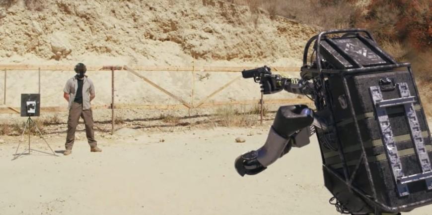 Bosstown Dynamics Military Robot