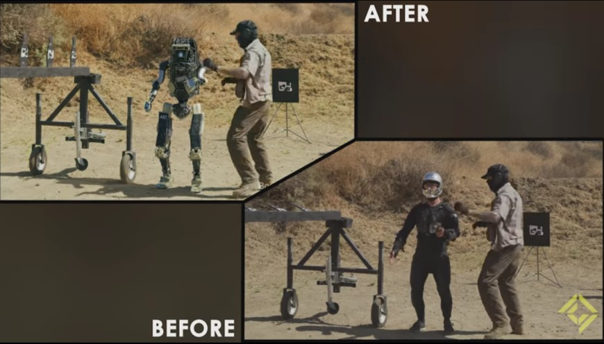 Combat Robots Before After