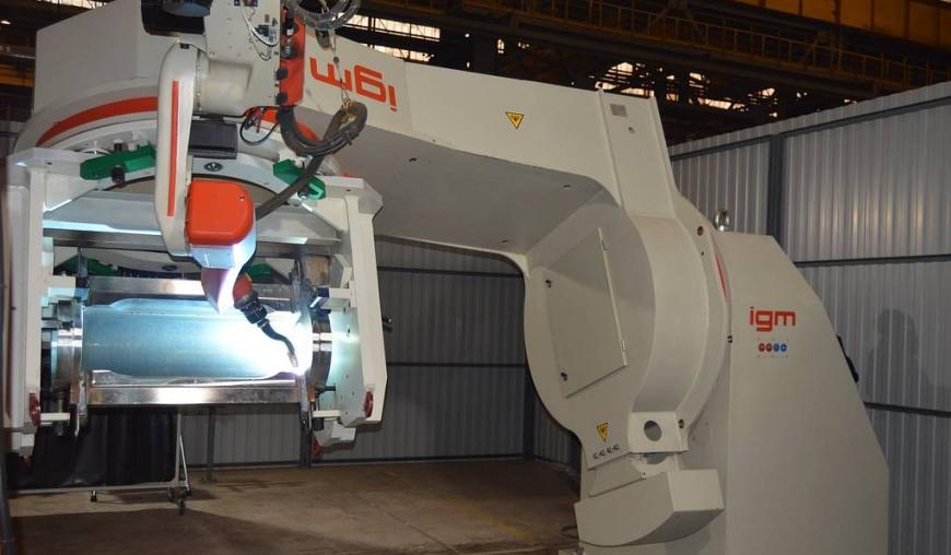 сварочный робот IGM
