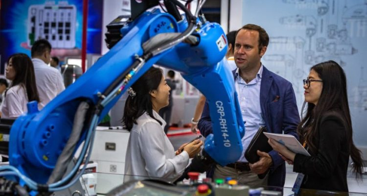 The China robotics market