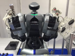 The new humanoid collaborative robot at IREX 2019