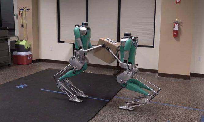 роботы Digit научились