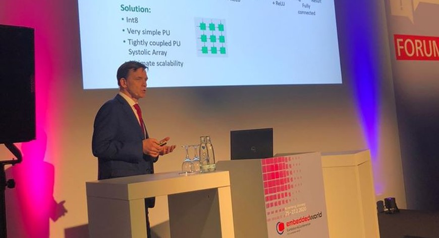 Тензорный процессор IVA TPU был представлен на конференции Embedded World 2020