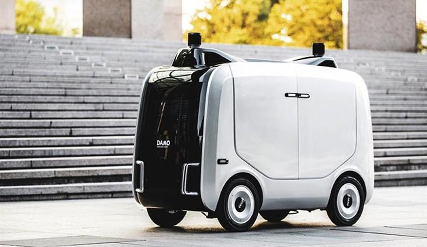 Alibaba logistics robot Xiaomanlv