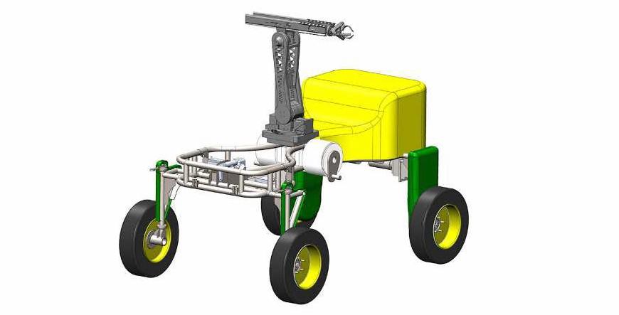 Робот для сбора урожая