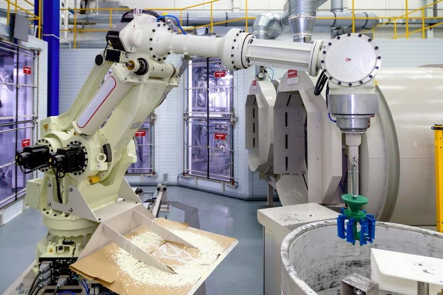 ОДК-Сатурн роботизированная линия