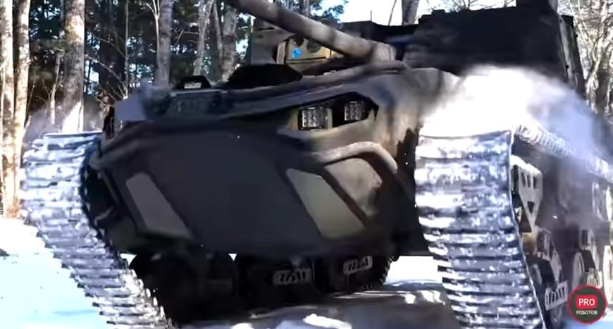 Видеообзор военных роботов