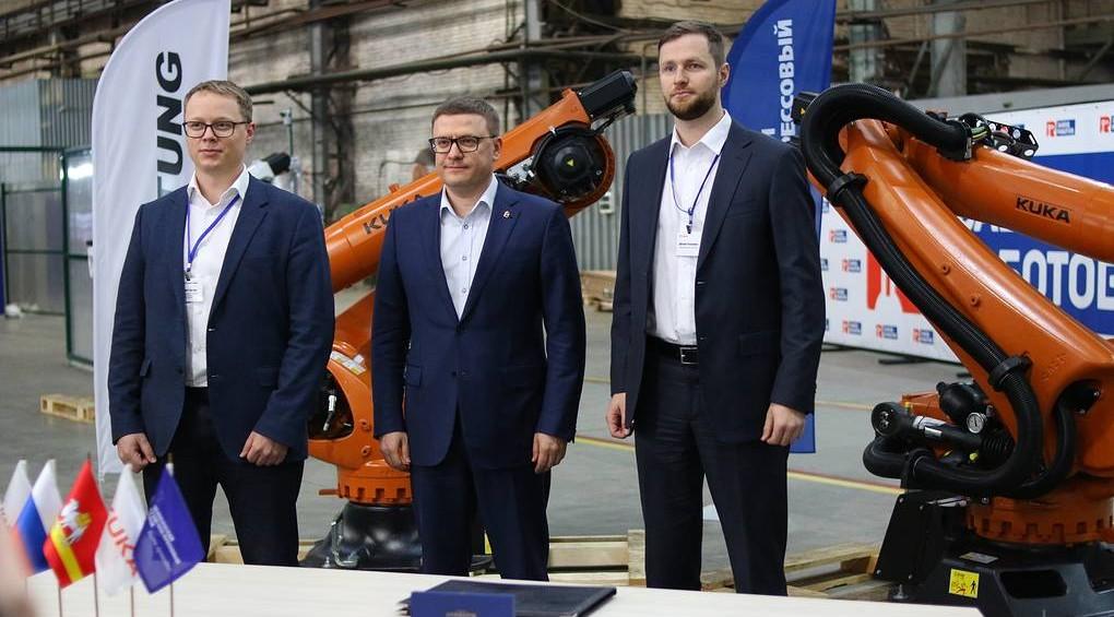 Завод роботов и КУКА Россия