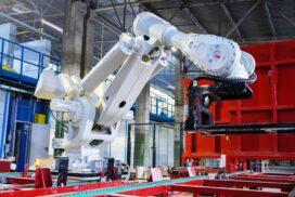 ABB поставила робота грузоподъемностью в 1 тонну