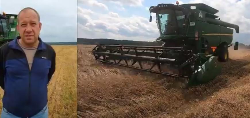 Отзыв механизатора о работе автопилота Cognitve Agro Pilot на комбайне JohnDeere