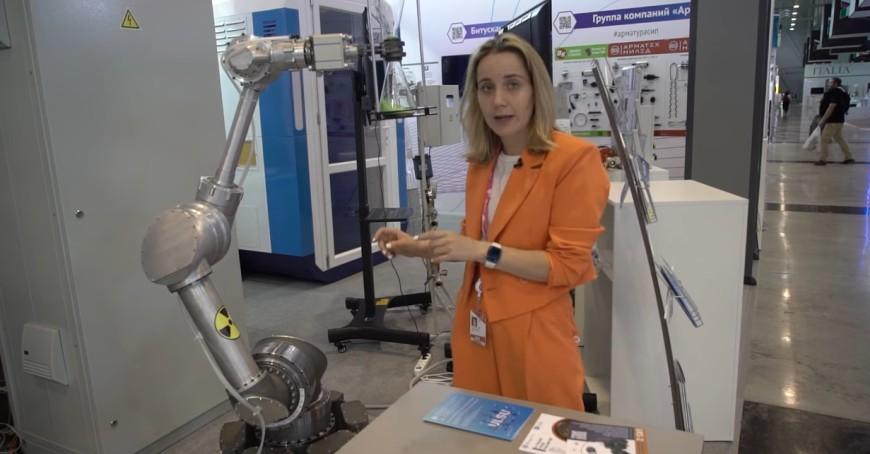 Видео: Роботы на выставке ИННОПРОМ 2021