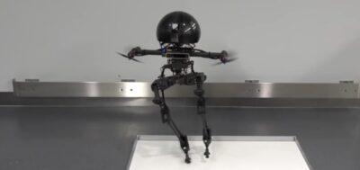 робот, который как птица - и летает, и ходит